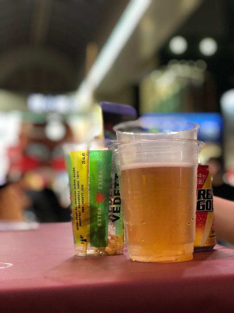 ビールはコミュニケーションの潤滑剤だ☺